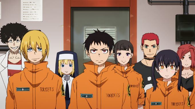 All member of the Special Fire Force Company 8